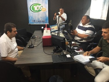 thumbnail_CE em entrevista à 105fm de Ceará Mirim