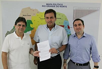 CE recebe apoio de Zé Lins ex-prefeito de Currais Novos
