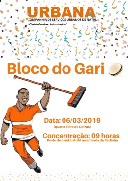 Bloco do Gari 2019